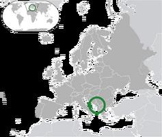 Kamenia Location Map