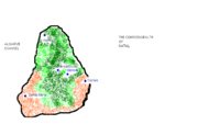 Map of natal