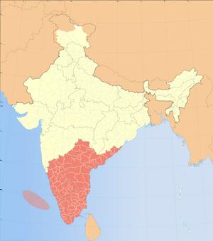 Dravida Map