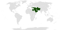 Location of the Ahmadiyya Caliphate