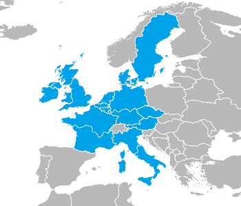 Map of ISE August 2013