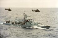 SADF Warrior class strike craft