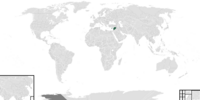 Map of Northern Levant