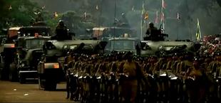 Mandinka troops in Brasilia