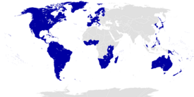 Location of the Great American Empire