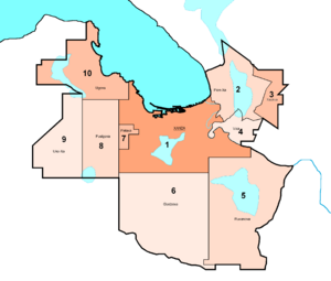 XMA - Xanza Metropolitan Area map