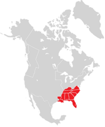 Locator Map of the Confederate States (PolCri)
