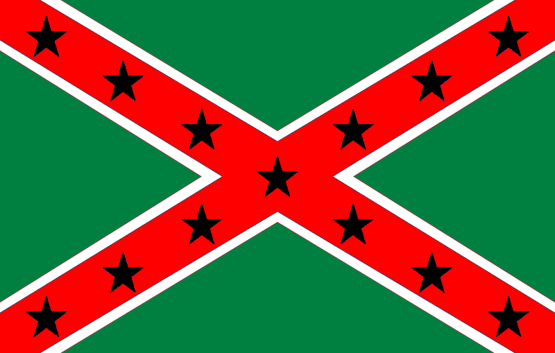 Image Pan African Confederate Flag By G Veronica Bow 1