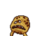Angry sentient cookie
