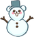 Bear Jelly Snowman