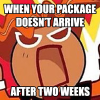 When your package don't arrive