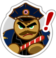 Police cookie