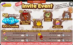 New World Invite Event
