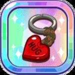 Backpacky's Heart Key Ring