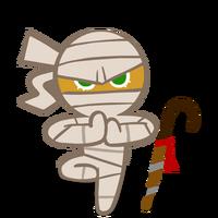 Ninja Cookie Halloween new