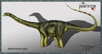 Apatosaurus ajax by karkemish00
