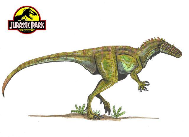 File:Jurassic park deltadromeus by hellraptor-d38uisb.jpg