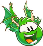 451px-Green Puffle Dragon