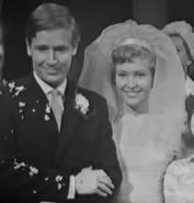 Ken and valerie wedding 1962