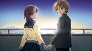 Yui and Tsukasa