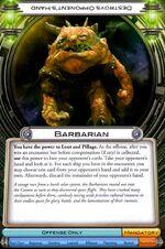 Barbarian (FFG)