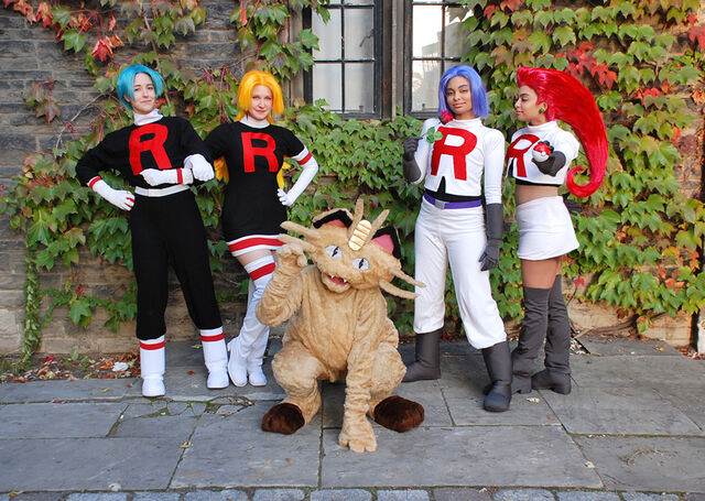 File:Team Rocket cosplay by TechnoRanma.jpg