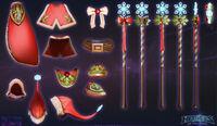 Jaina - Winter cosplay 2