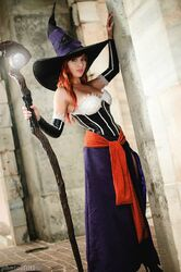 Lisa Lou Who - Sorceress - Dragon's Crown