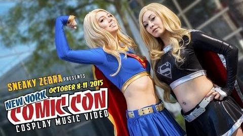 New York Comic Con - NYCC - Cosplay Music Video 2015