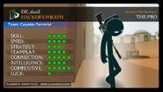 Hacker's Wrath Characters Sheet The Pro