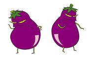 Courage eggplant