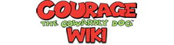 Wikia Courage, le chien froussard