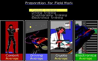 Skill SelectionScreen