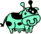 Evolved Alien Cow