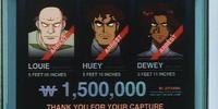 Huey, Louie and Dewey