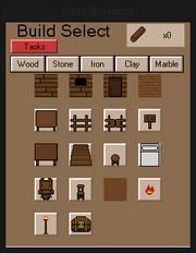 BuildMenuWood