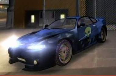 Lowrdidere sports car