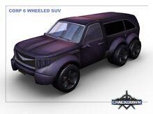 Corp 6 Wheeled SUV