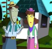 The Twins parents cowboy