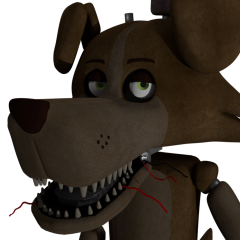 WIP render of the animatronic Marbles.