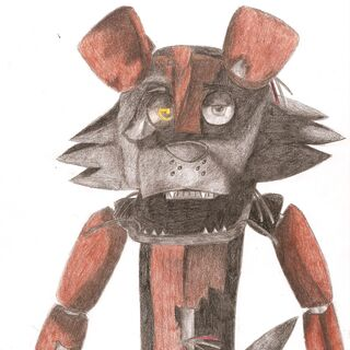 Drawing of the first animatronic Rex model.