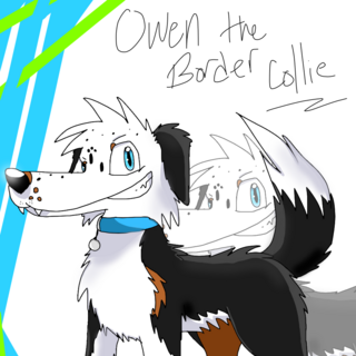 Old crappy drawing of Owen from early 2014.