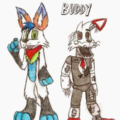Buddy with old Hyper again by Nyro