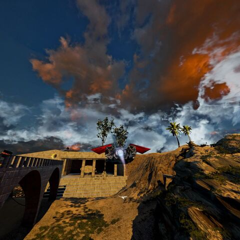 Aquila Rapax in Aquila Plains map in game screenshot