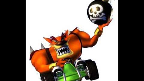 CTR Tiny Tiger voice taunts quotes lines from Crash Team Racing