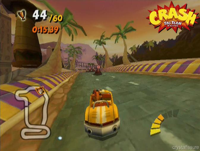 Image 15 Crash Tag Team Racing Dead Heat Fw Png