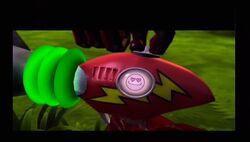 Cortex's Ray Gun