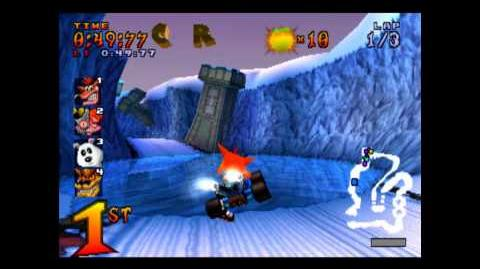 Polar Pass - CTR Challenge - Crash Team Racing - 101% Playthrough (Part 35)