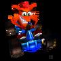 CTR Crash Bandicoot