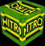 Crash Nitro Kart Nitro Crate